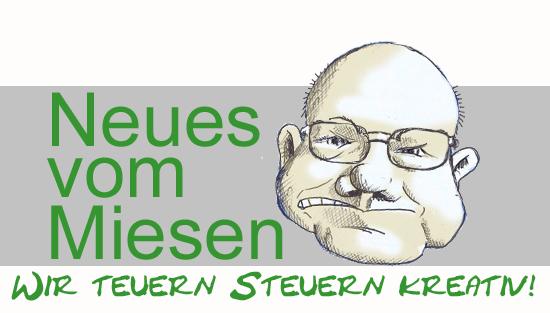 Steuerberaterkanzlei Miesen und Wunder mit Slogan