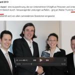 "Carriere and more: Täuschung der Kunden durch Walter Trummer, diesmal: ""Excellence Award"", Teil 1"