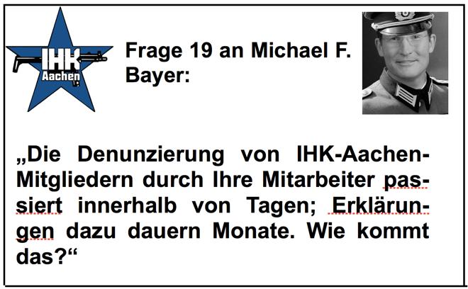 Michael F. Bayer (IHK-Aachen): der Totalversager, Teil 7/8