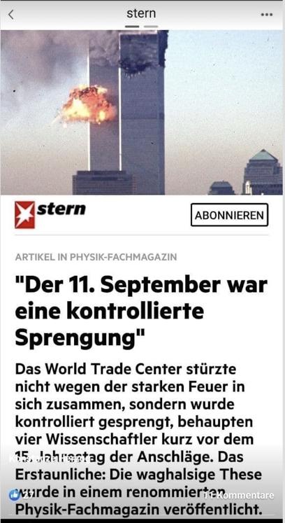 9/11: Da waren keine Flugzeuge!